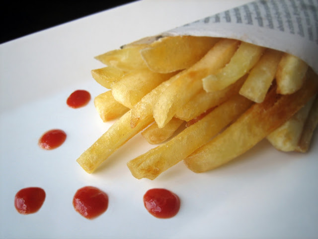 Fries-Plated