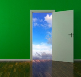open-door_green