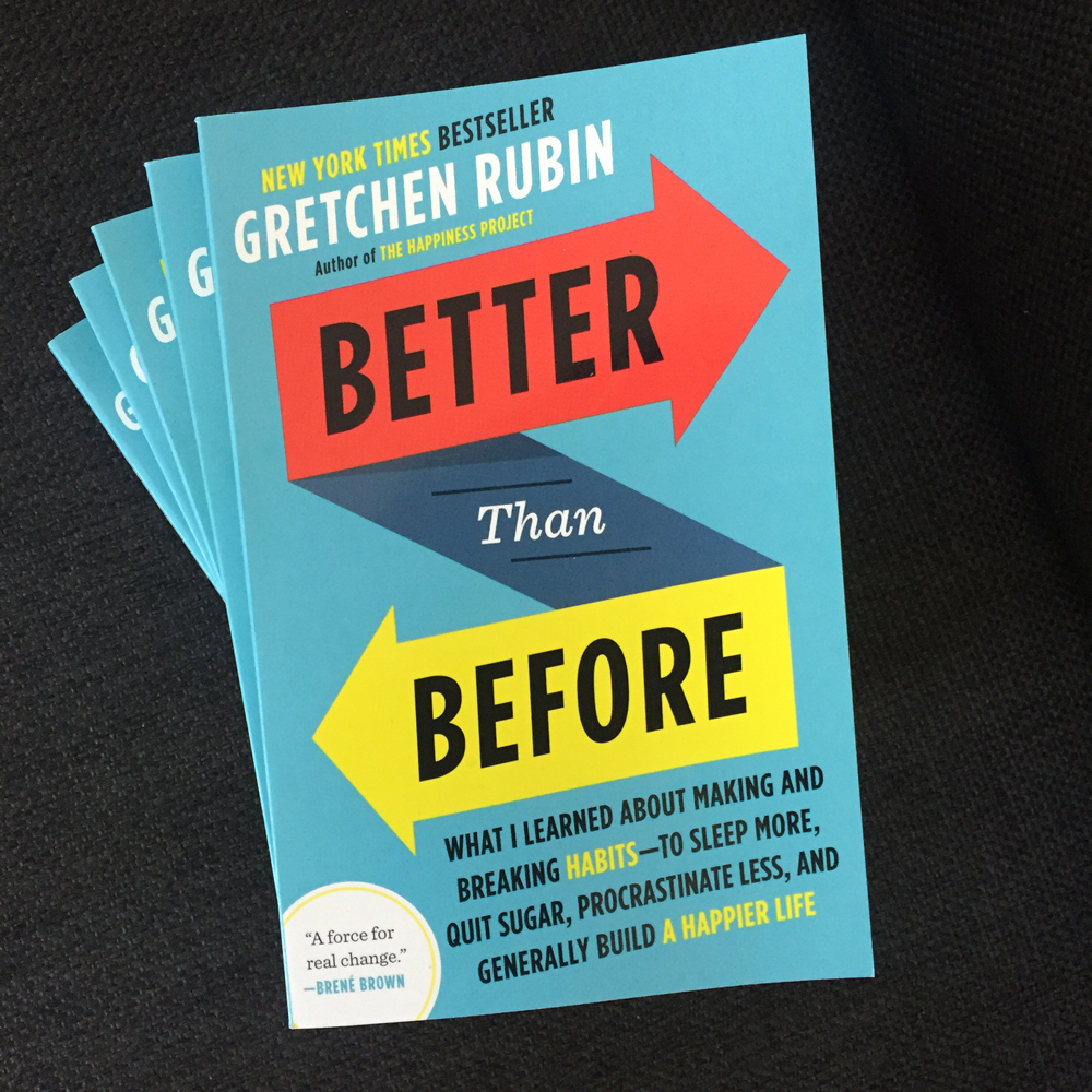Better Than Before in paperback