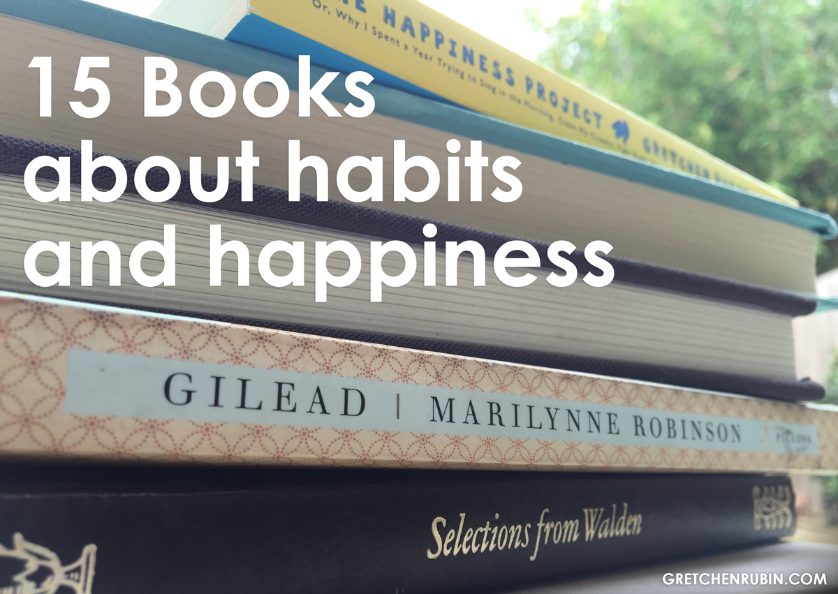15 Books about happiness and habits