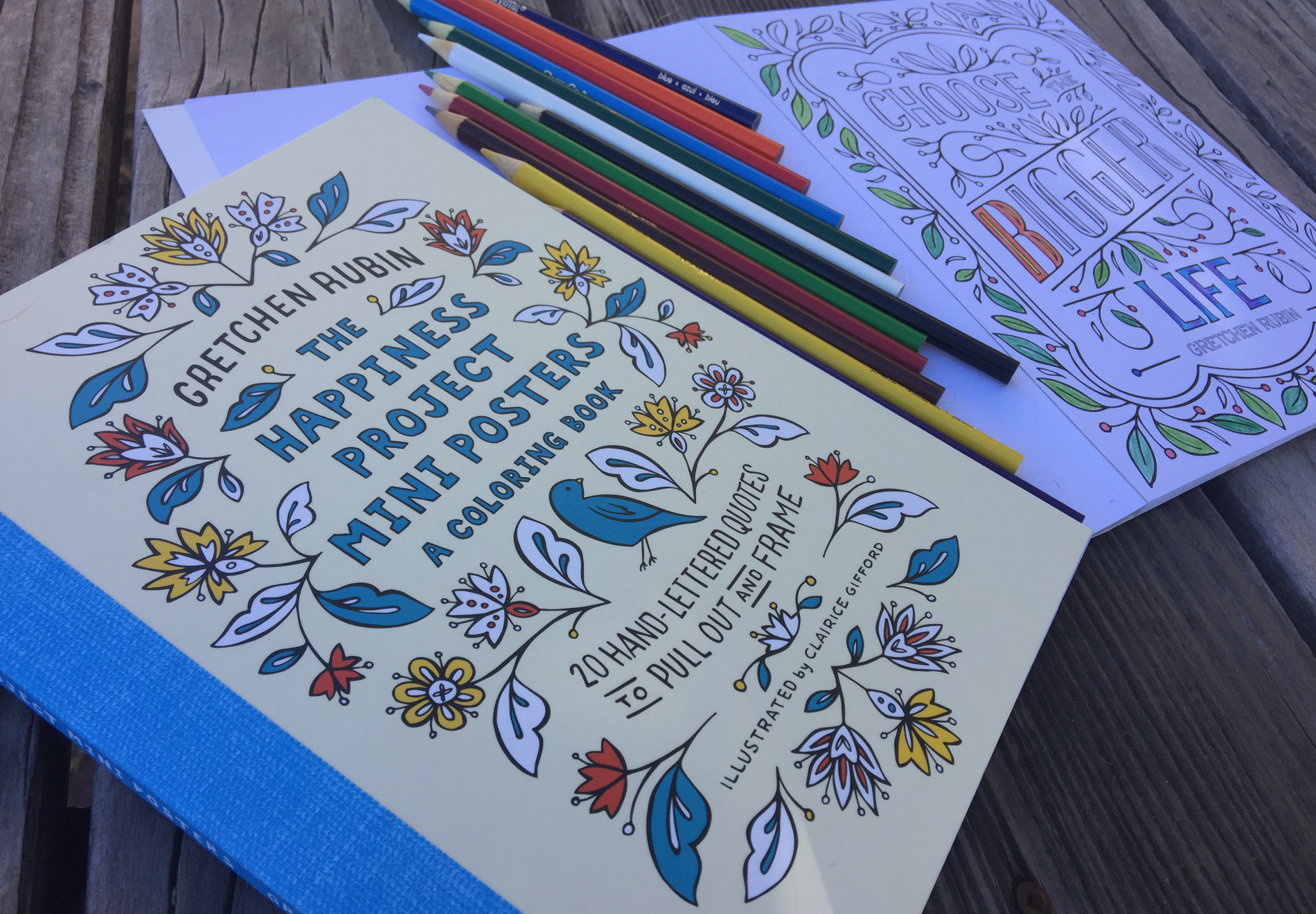 announcing my new happiness project coloring book do you love to color