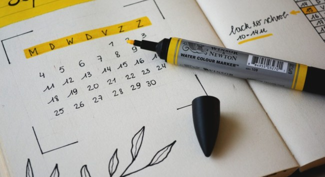 A key to happiness: having something to look forward to.