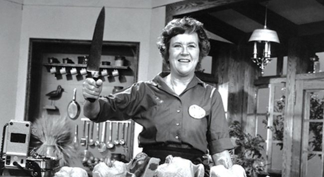 A Happiness Lesson from Julia Child?