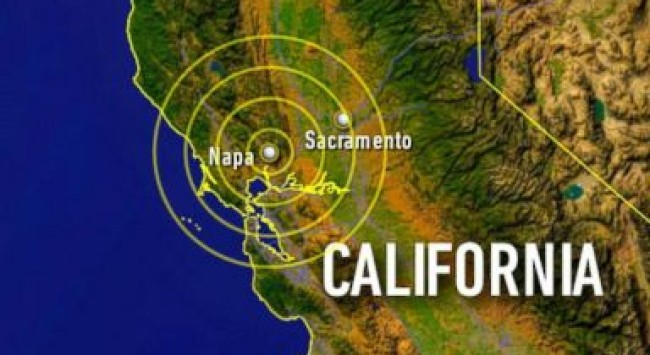 A New Experience: I Was in the Napa Valley Earthquake.