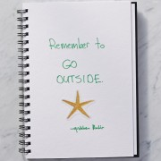 Secrets of Adulthood: Remember to Go Outside.