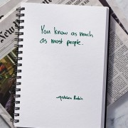Secrets of Adulthood: You Know as Much as Most People.