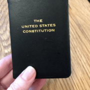 A Little Happier: At a Recent Dinner for Supreme Court Clerks, Even Longtime Lawyers Wanted This Table Gift.