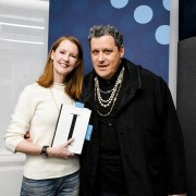 """Podcast 249: Happier Podcast Book Club: The Legendary Isaac Mizrahi Talks about Fashion, Family, and Self-Knowledge in """"I.M."""""""