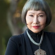 A Little Happier: Novelist Amy Tan Didn't Ask Her Unnamed Goddess for Glowing Reviews.